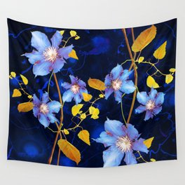 clematis Wall Tapestry