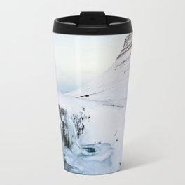Kirkjufell Waterfall Travel Mug