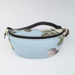 Birds and the Bees Blue Fanny Pack
