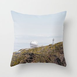 Roque de los Muchachos Astronomical Observatory. La Palma, Canary Islands. Throw Pillow