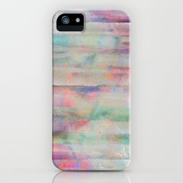 pastel painting, abstract art iPhone Case