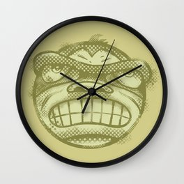 Monkey face Wall Clock