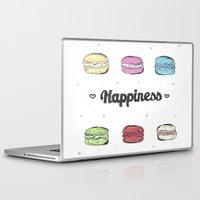 macaroons Laptop & iPad Skins featuring Macaroons by AshleyRose