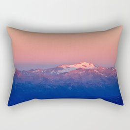 Hochalmspitz in Morningsun Rectangular Pillow