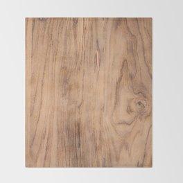 Wood Grain #575 Throw Blanket