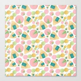 Japanese Snacks Canvas Print