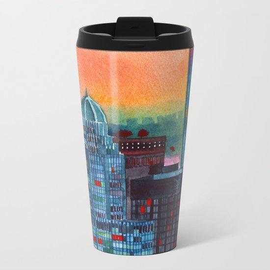 New York buildings vol3 Metal Travel Mug