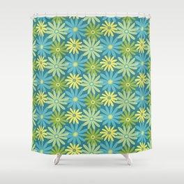 Daiseez-Jardin Colors Shower Curtain