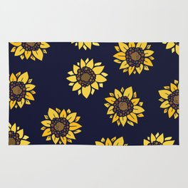 Sunflower summer sunshine Rug