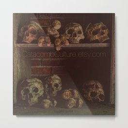 Catacomb Culture - Catacombs Metal Print