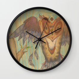 When Owls Get Weird  Wall Clock