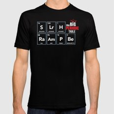 The Big (Bang) Periodic Table Mens Fitted Tee MEDIUM Black