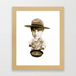 Chef Beiber Framed Art Print
