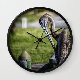 Pelican Itch Wall Clock