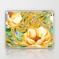 Orange Peony Laptop & iPad Skin