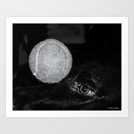Keep Your Eye On The Ball Art Print