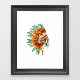 Skull 03 Framed Art Print