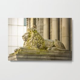 Vancouver Art Gallery Lion Metal Print
