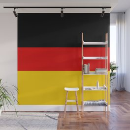 German flag - High Quality version both in scale and color Wall Mural