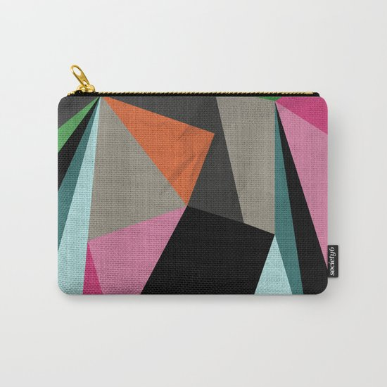 Geometric#21 Carry-All Pouch