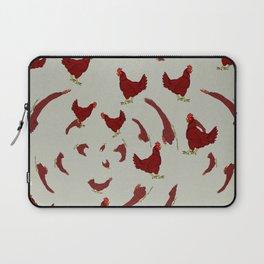 Into the Chicken Vortex Laptop Sleeve