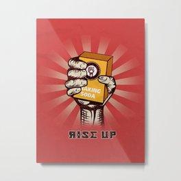 Rise Up Metal Print