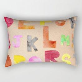 abc Rectangular Pillow
