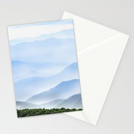 Great Smoky Mountain National Park Sunset Layers II - Nature Photography Stationery Cards