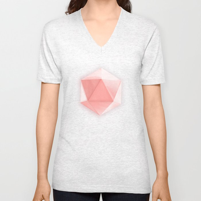 spatial geometry Unisex V-Neck