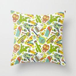 Viva Mexico Throw Pillow