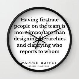 57 | Warren Buffett Quotes | 190823 Wall Clock