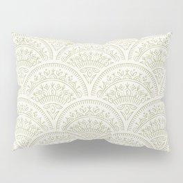 Bohemian Scallops - Moss Pillow Sham