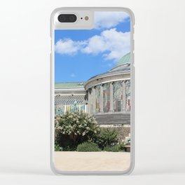 Botanical Gardens-Belgium Clear iPhone Case