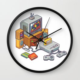Retro gaming console Wall Clock