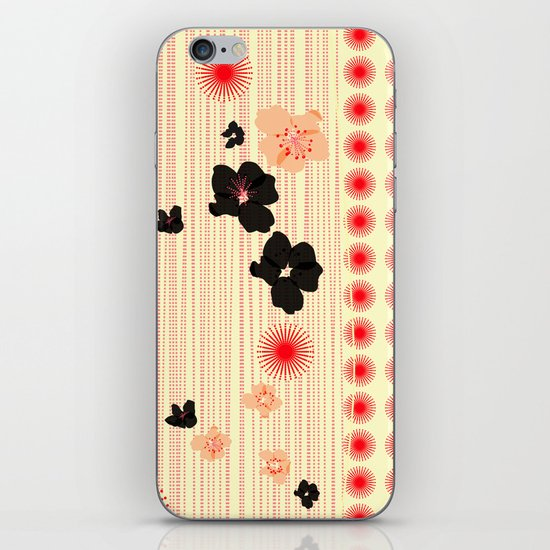 spotted blooms iPhone & iPod Skin