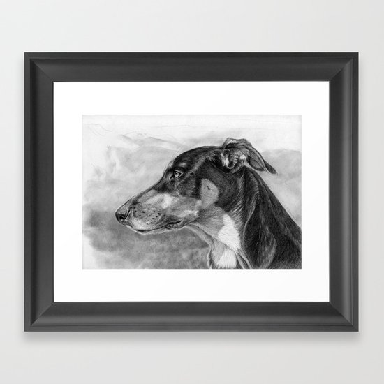 sh-Dog G2009sh Framed Art Print