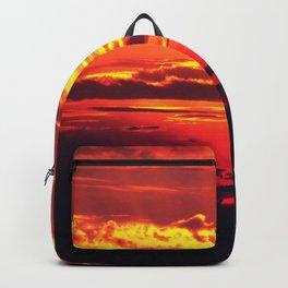 Devilish Sunset #society6 #home #tech Backpack