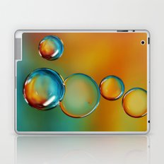 Bubble Drops Laptop & iPad Skin