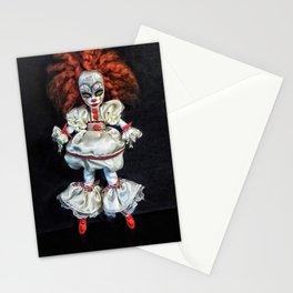 Female 'IT' custom doll Stationery Cards