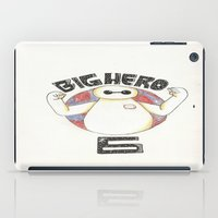 big hero 6 iPad Cases featuring Big Hero 6 by kayla.koss