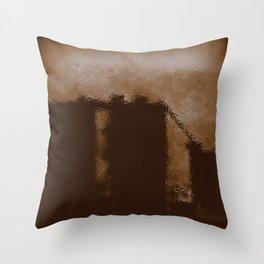The Silo Throw Pillow