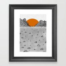 re birth Framed Art Print