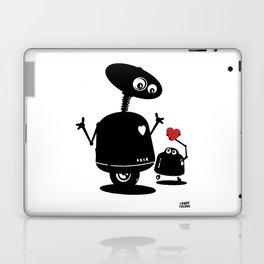 Robot Heart to Heart Laptop & iPad Skin