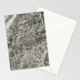Natural Rock Impressions (Lake Tahoe, California) Stationery Cards