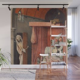 "Hieronymus Bosch ""Death and the Miser"" Wall Mural"