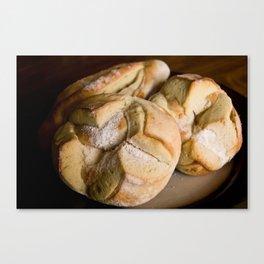 Pitahaya Bread Canvas Print