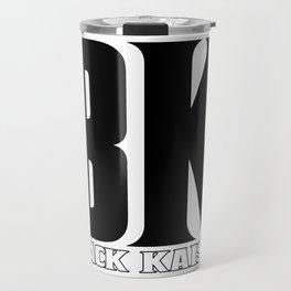Black Kaiser BK b&w Logo Travel Mug