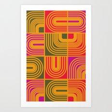 strange museum Art Print