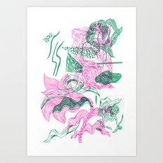 organic feeling Art Print