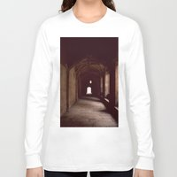 england Long Sleeve T-shirts featuring Oxford, England by David Hohmann